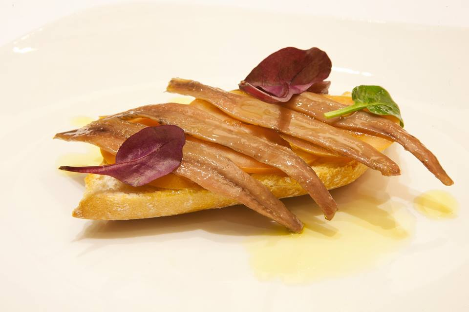 receta anchoas