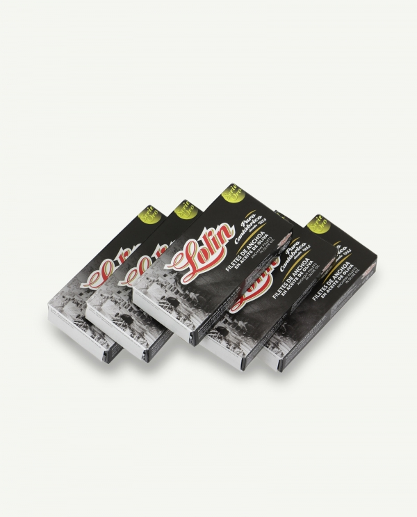 Filetes de anchoas serie oro pack 5